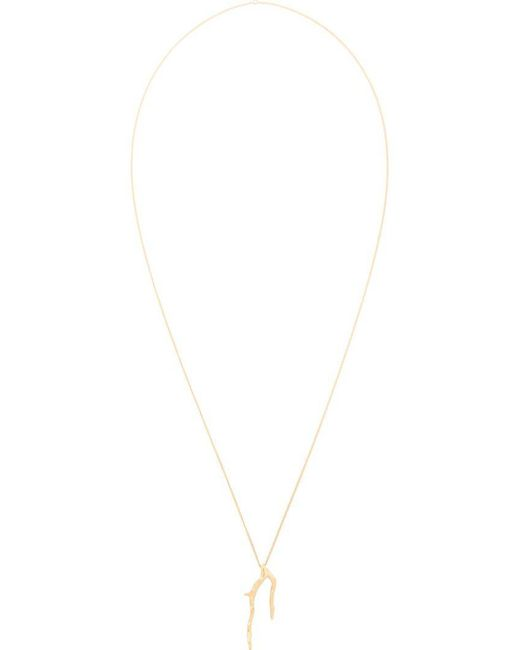 Wouters & Hendrix   Metallic 'in Mood For Love' Branch Long Necklace   Lyst