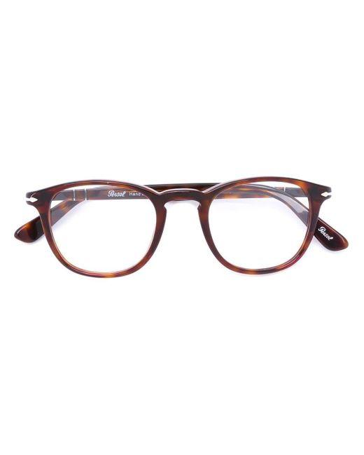 Persol - Brown Po0714 Polarised Aviator Sunglasses - Lyst