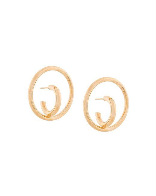 Charlotte Chesnais - Metallic Saturn Blow Large Earrings - Lyst