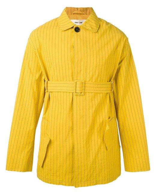 Damir Doma | Yellow Jess Coat for Men | Lyst
