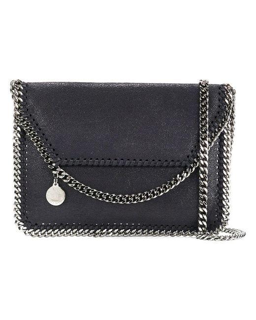 Stella McCartney | Blue Mini Falabella Shoulder Bag | Lyst