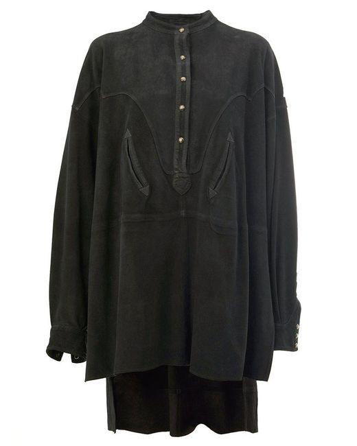Faith Connexion | Black Oversized Shirt Dress | Lyst