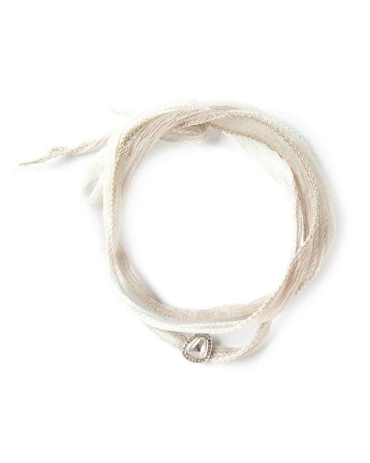 Christian Koban - Metallic Diamond Necklace - Lyst