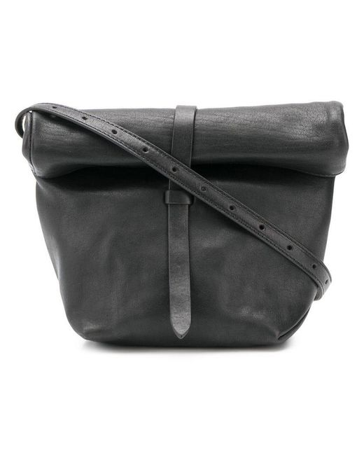 a037274fbc Ann Demeulemeester - Black Foldover Shoulder Bag for Men - Lyst ...