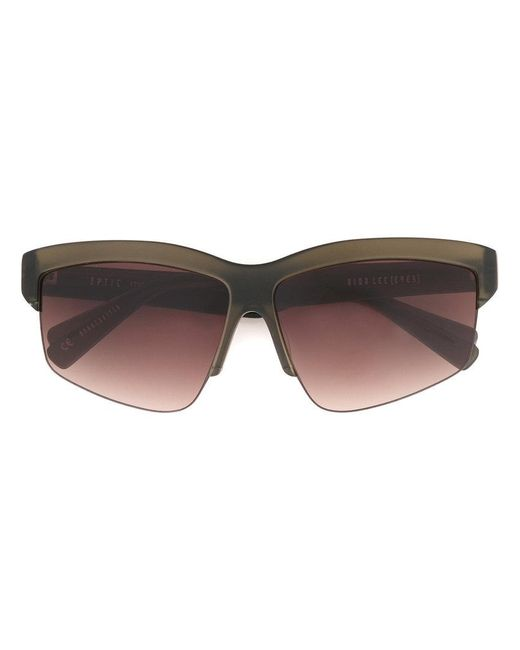 Dion Lee - Green Matte Sunglasses - Lyst