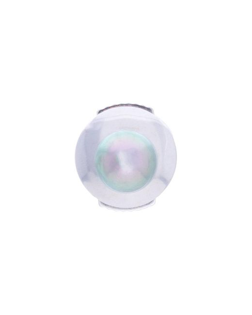 Yvonne Léon - Metallic Petit Grey Pearl Stud Earring - Lyst