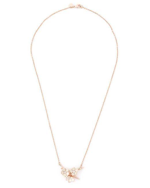 Shaun Leane - Pink 'cherry Blossom' Diamond Necklace - Lyst