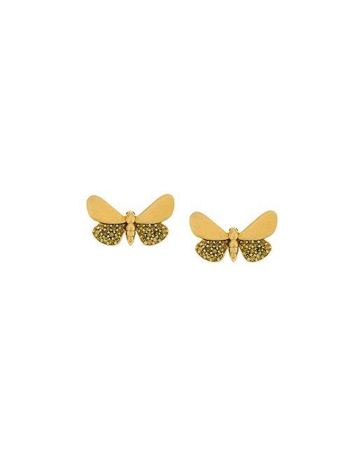 Astley Clarke | Metallic Cinnabar Moth Earrings | Lyst