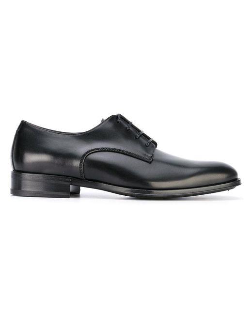 Ferragamo - Black 'daniel' Shoes for Men - Lyst