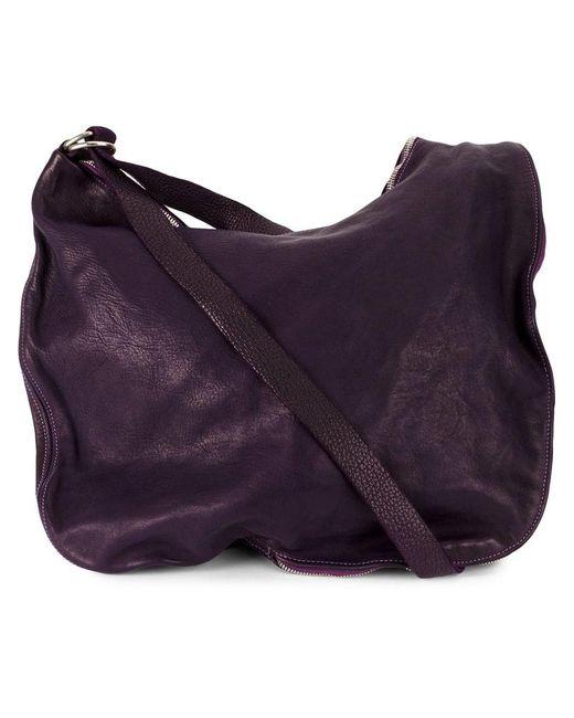 Guidi - Pink Zipped Shoulder Bag - Lyst
