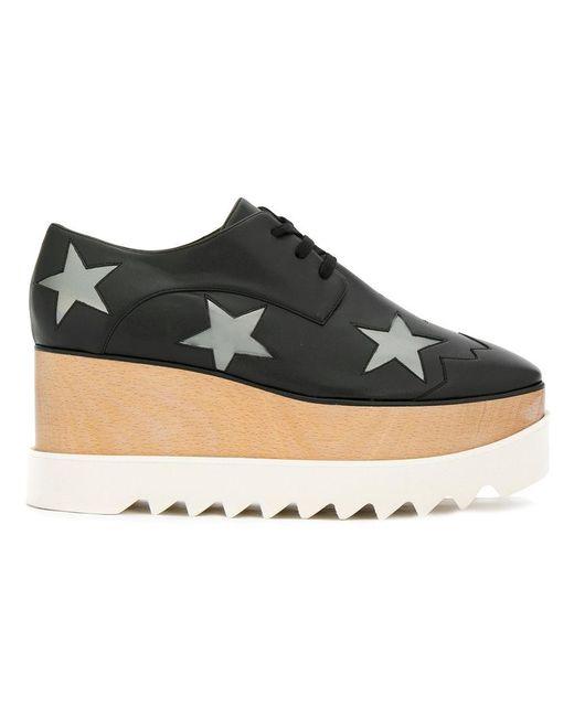 Stella McCartney | Black 'elyse' Platform Shoes | Lyst