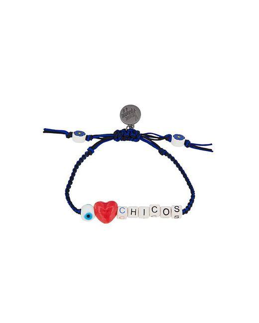 Venessa Arizaga | Black 'i Love Chicos' Bracelet | Lyst