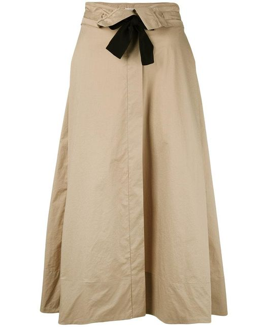 Dorothee Schumacher | Natural Tie Up Skirt | Lyst