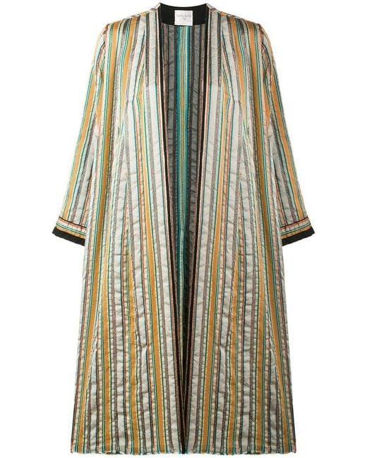 Forte Forte - Multicolor Striped Open Front Coat - Lyst