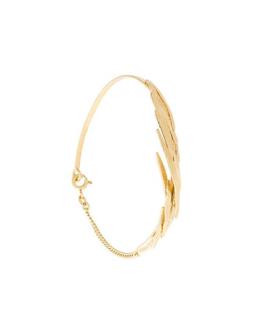 Wouters & Hendrix - Metallic Bamboo Leaf Bracelet - Lyst