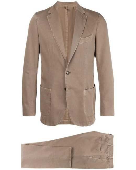Dell'Oglio - Brown Two-piece Suit for Men - Lyst