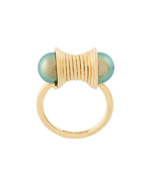 Wouters & Hendrix - Metallic Curiosities Pearl Ring - Lyst