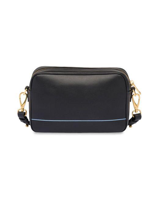 8f08f98fe2acdc ... Prada - Black Mirage Shoulder Bag - Lyst ...