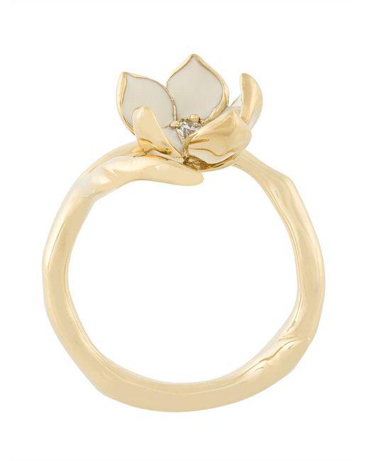 Shaun Leane - Metallic Cherry Blossom Diamond Ring - Lyst