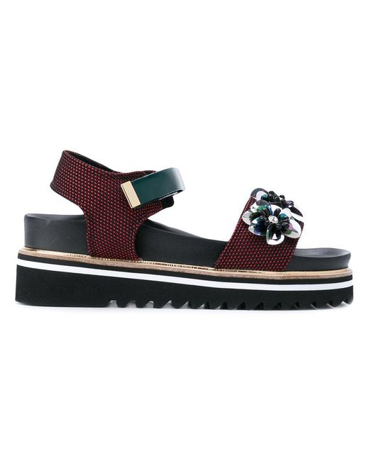 Suecomma Bonnie - Black Paltform Sandals - Lyst
