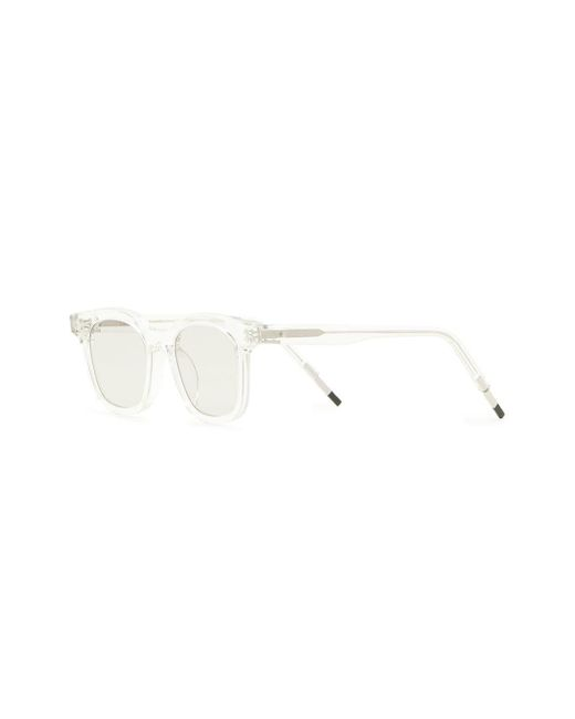 39a25bf620 ... Gentle Monster - White Dal Lake C1 Sunglasses - Lyst ...
