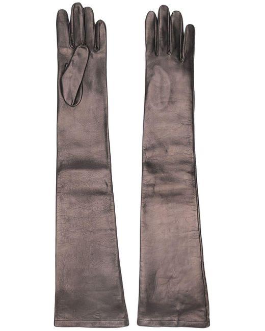N°21 - Black Long Gloves - Lyst
