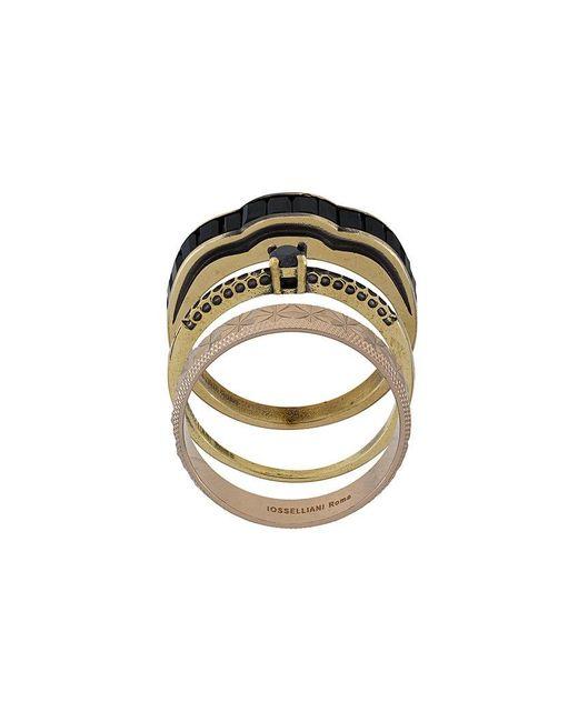 Iosselliani   Metallic Burma Ring Set   Lyst