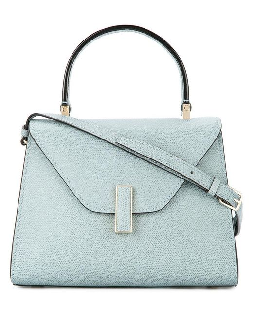 Valextra - Blue Trapeze Tote Bag - Lyst