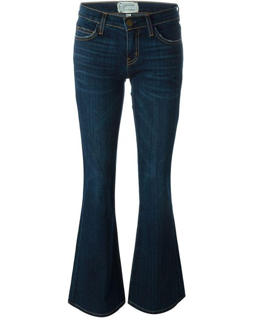 Current/Elliott - Blue 'the Low Bell' Jeans - Lyst
