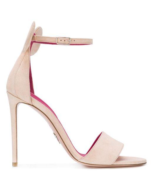 Oscar Tiye - Multicolor Stiletto Heel Sandals - Lyst