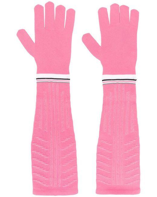 Prada - Pink Long Gloves - Lyst