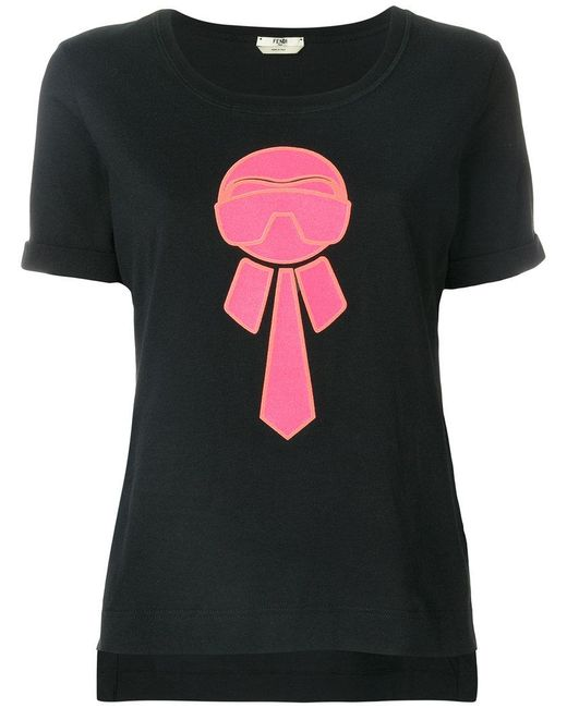Fendi - Black Karlito T-shirt - Lyst