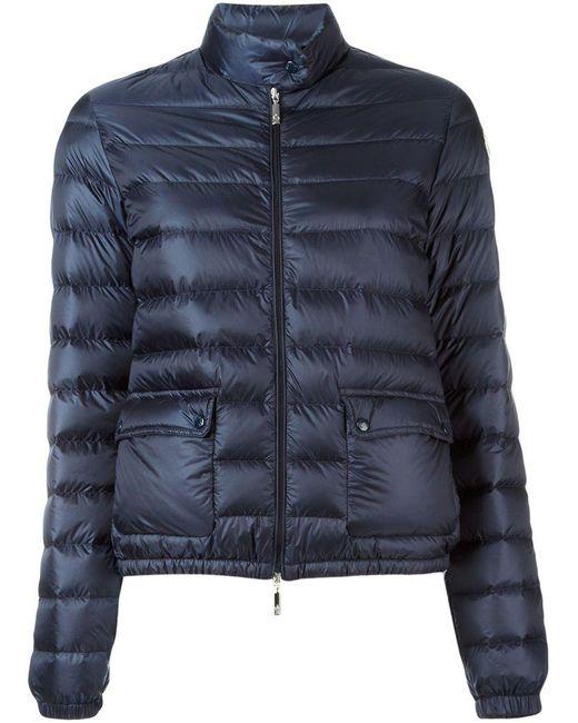Moncler - Blue 'lans' Padded Jacket - Lyst