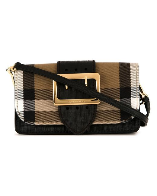 Burberry | Brown House Check Crossbody Bag | Lyst