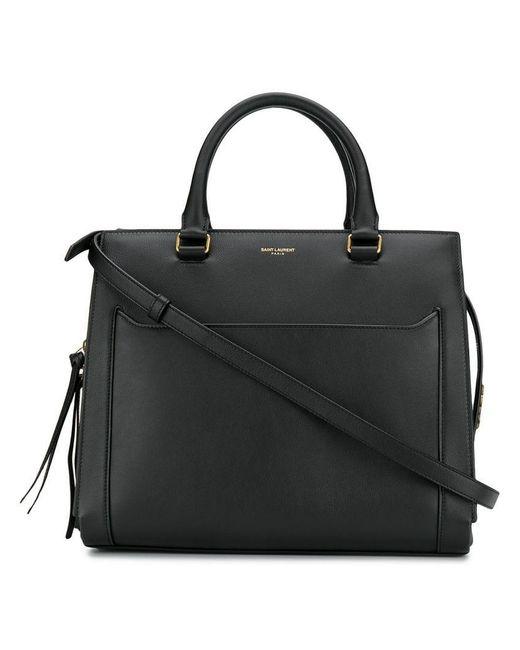 02a888b15960 Saint Laurent - Black East Side Tote Bag - Lyst ...