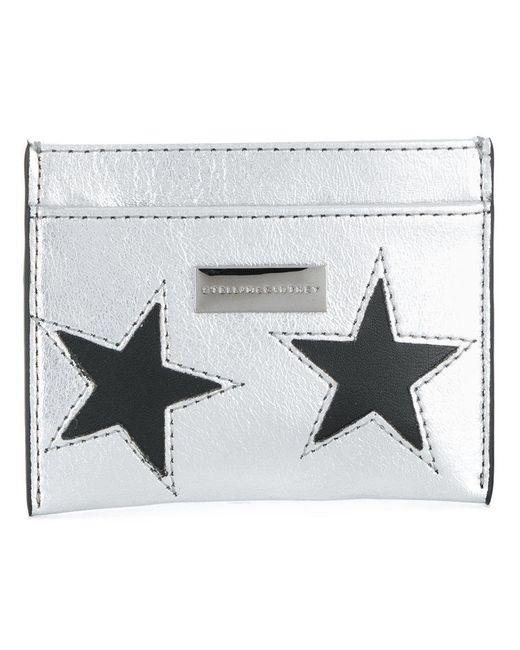 Stella McCartney - Metallic Star Cardholder - Lyst