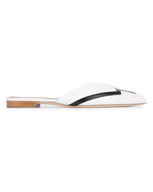 Malone Souliers - White Amelie Mules - Lyst