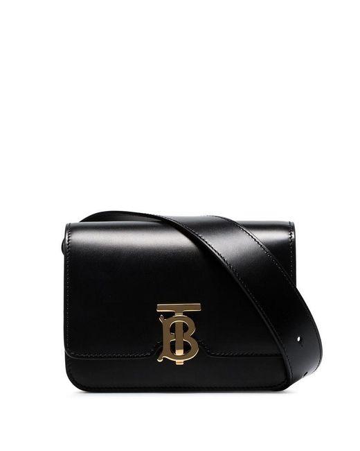 d827cfdfa6af Burberry - Black Logo Belt Bag for Men - Lyst ...
