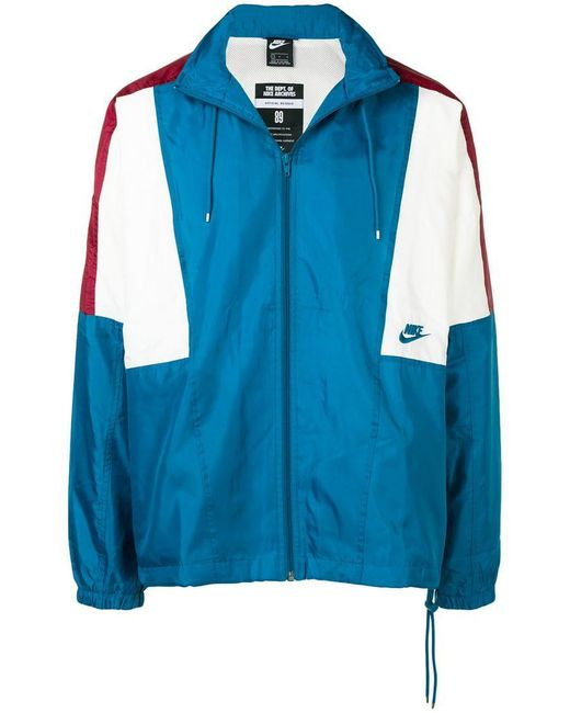 Nike - Green Sportswear Woven Jacket for Men - Lyst ... 067d51c99872