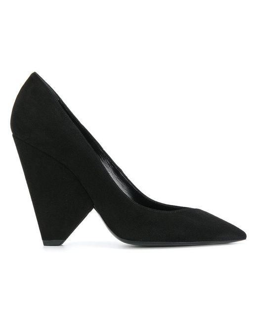 Saint Laurent - Black Niki 85 Pumps - Lyst