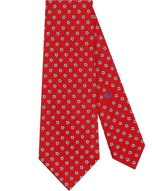 Gucci - Red Corbata de Seda con Nudo con Tigre for Men - Lyst