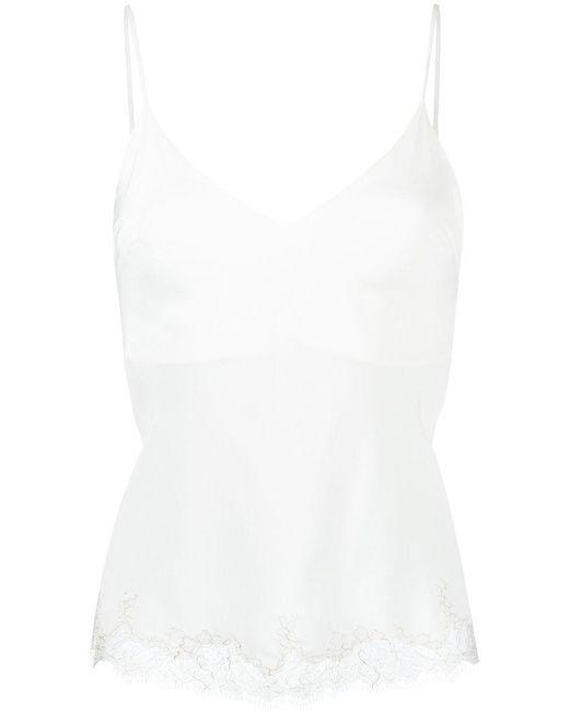 Gilda & Pearl - White Aurora Cami Top - Lyst