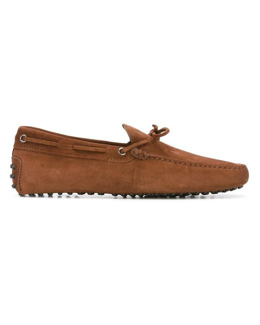 Tod's | Brown 'gommini' Loafers for Men | Lyst