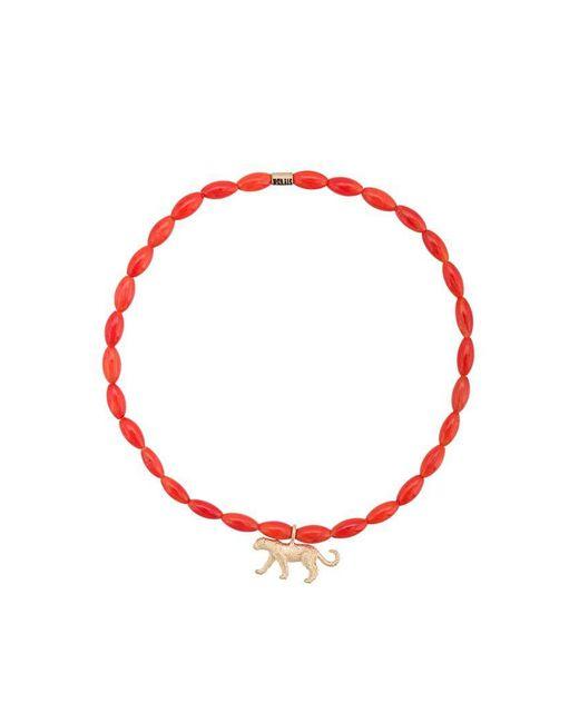 Luis Morais - Red Medium Pantera Spacer Bracelet - Lyst