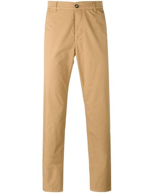 KENZO | Brown Straight Leg Trousers for Men | Lyst