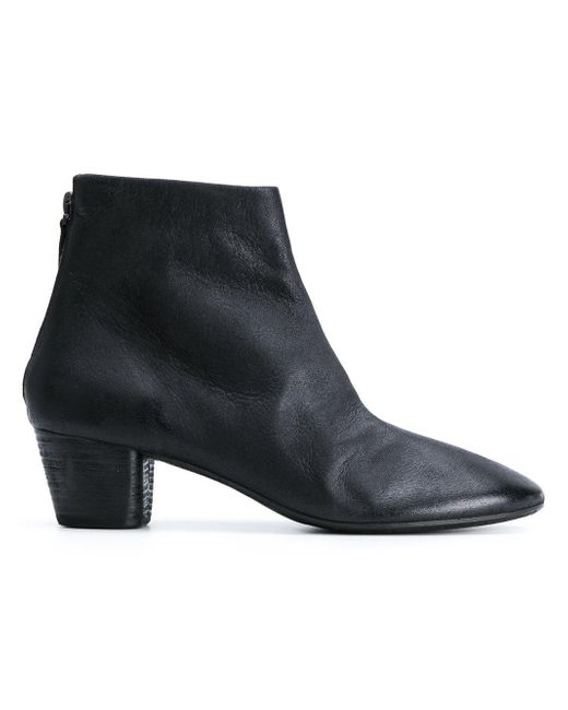Marsèll Black Classic Ankle Boots