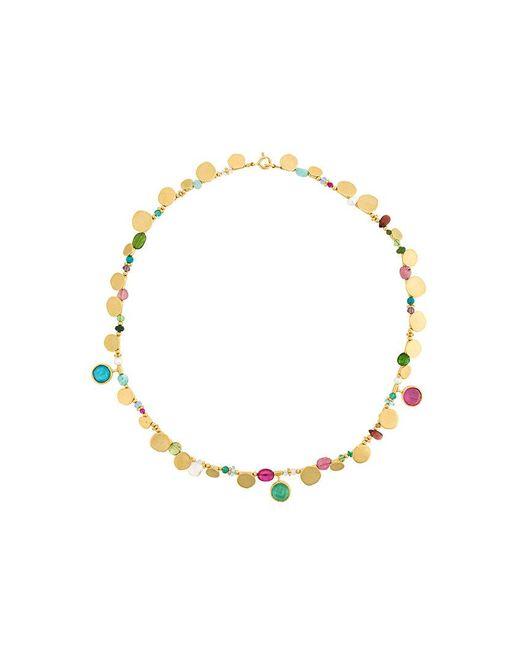Katerina Makriyianni - Metallic Granules And Stones Bracelet - Lyst