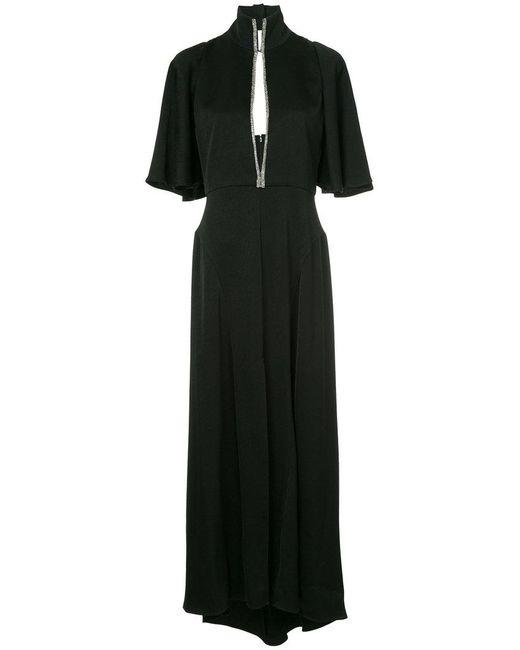 Ellery - Black Mae Funnel-neck Dress - Lyst