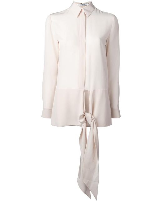 Givenchy - Multicolor Waist Tie Shirt - Lyst