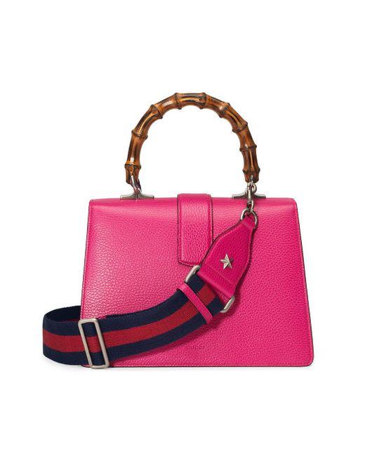 7b9eeb447c7 Gucci Dionysus Medium Top Handle Bag in Pink - Save 43% - Lyst